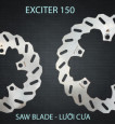 Đĩa thắng sau K-Driven Lưỡi Cưa (chính hãng) cho Exciter 150
