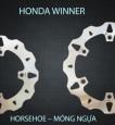 Đĩa thắng trước K-Driven Móng Ngựa (chính hãng) cho Honda Winner