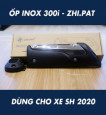 Ốp pô inox 300i ZHIPAT cho SHVN 2020