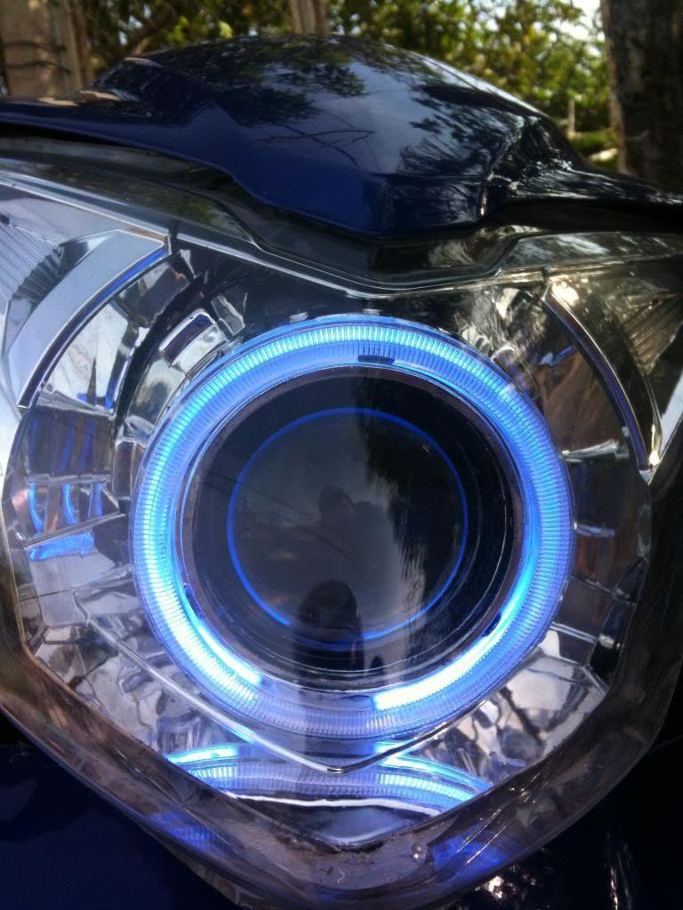 Có nên lắp đèn gương cầu cho xe máy - 3
