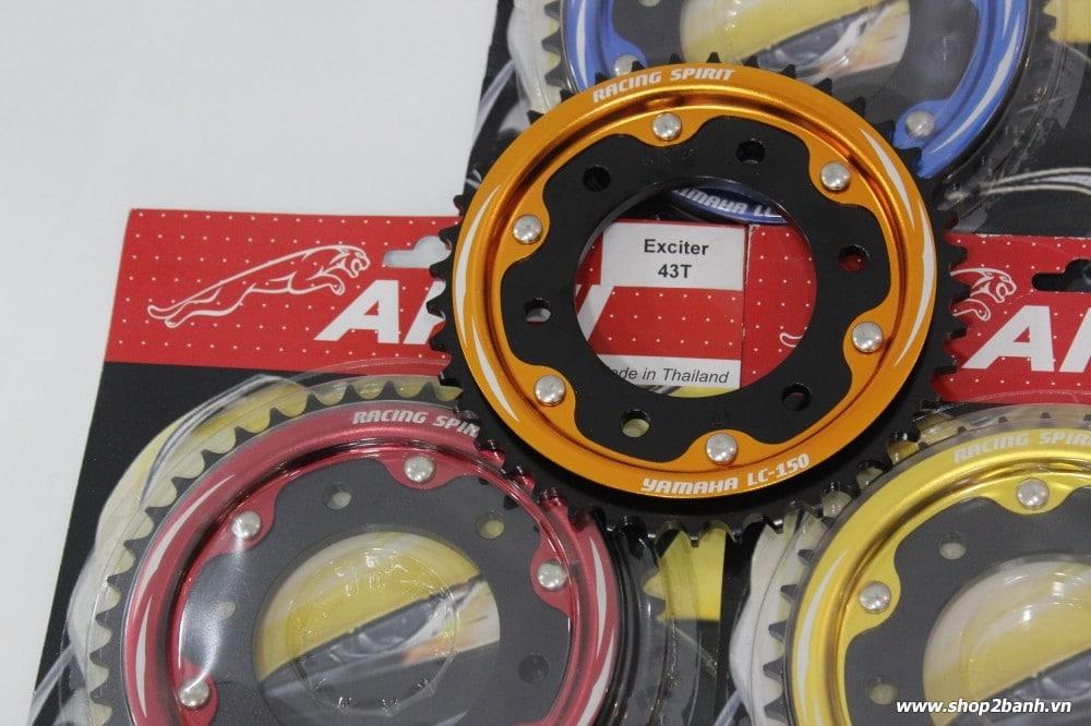 Cách chọn nhông sên dĩa cho xe exciter 150 2015 - 11