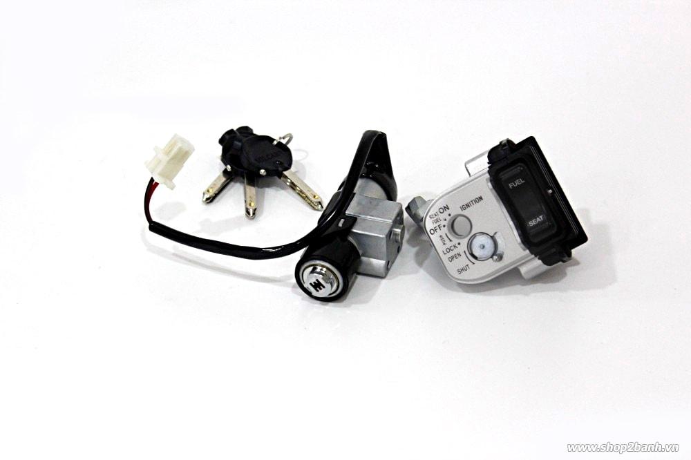 Bộ khóa solcar honda airblade 125 - 2