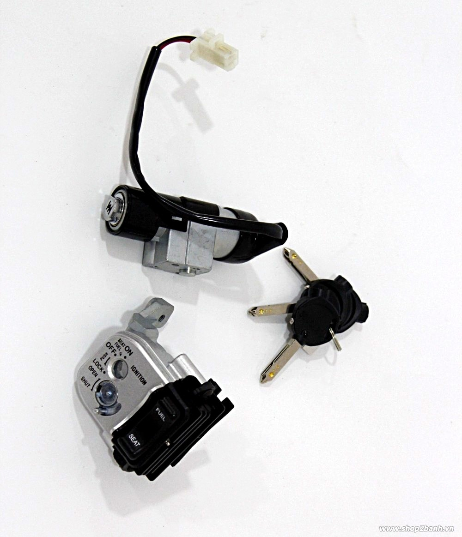 Bộ khóa solcar honda airblade 125 - 1