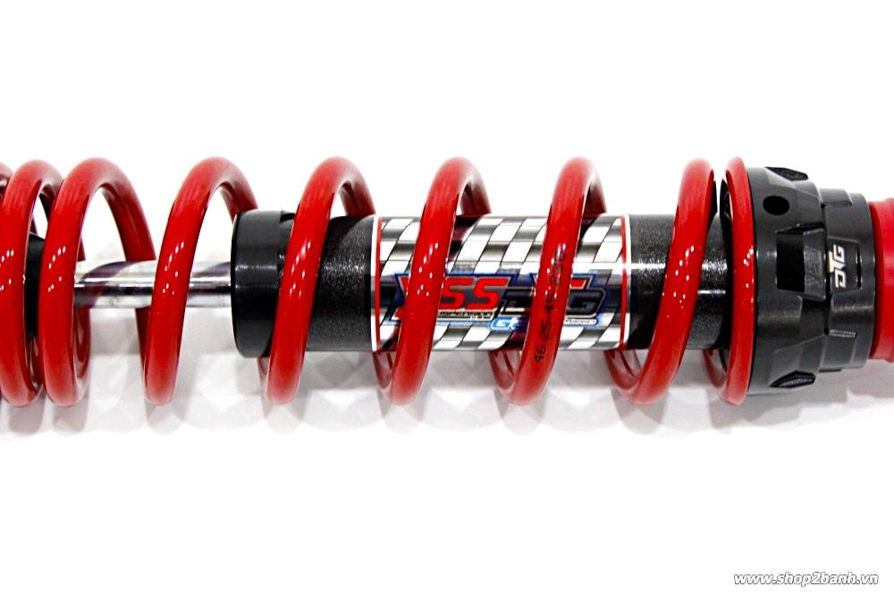 Phuộc yss hybrid s222 dtg đenđỏ honda lead click 125 vario 125 - 1