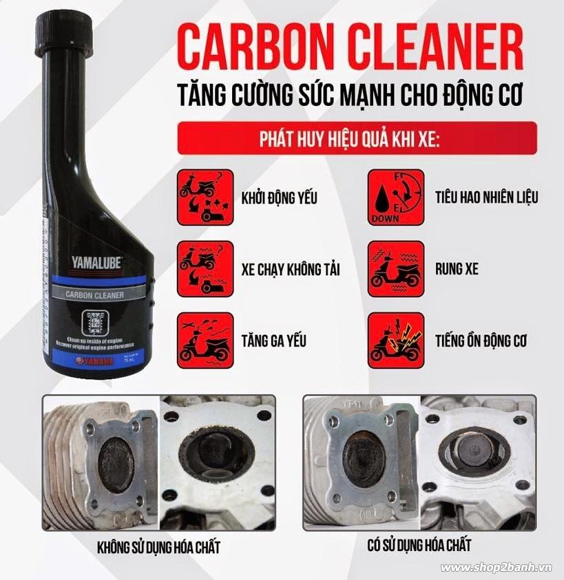 Yamalube carbon cleaner phép màu cho chiến mã của bạn - 3