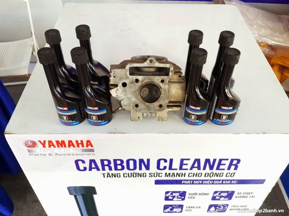 Yamalube carbon cleaner phép màu cho chiến mã của bạn - 1