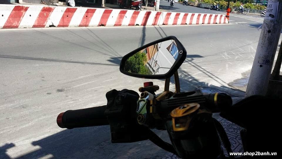 Gắn kính gù trên xe máy liệu có bị thổi phạt không  - 3