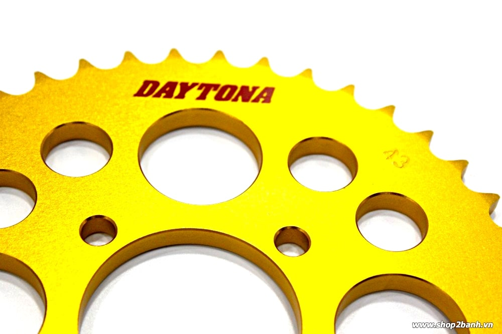Dĩa tải daytona cnc raider 150 satria f 150 belang 150 fx 125 sport 150 43t răng - 2