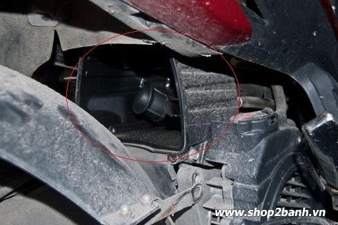 Lọc gió bẩn ảnh hưởng đến việc hao xăng xe máy - 4