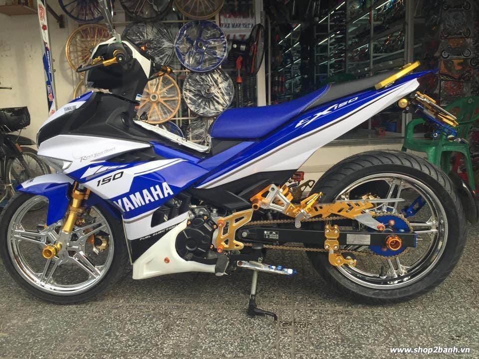Exciter 150 lên full đồ chơi nổi bật của biker kiên giang - 1