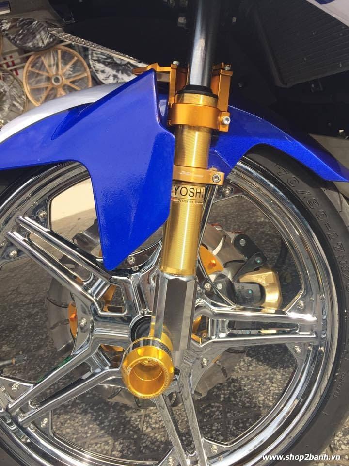 Exciter 150 lên full đồ chơi nổi bật của biker kiên giang - 5