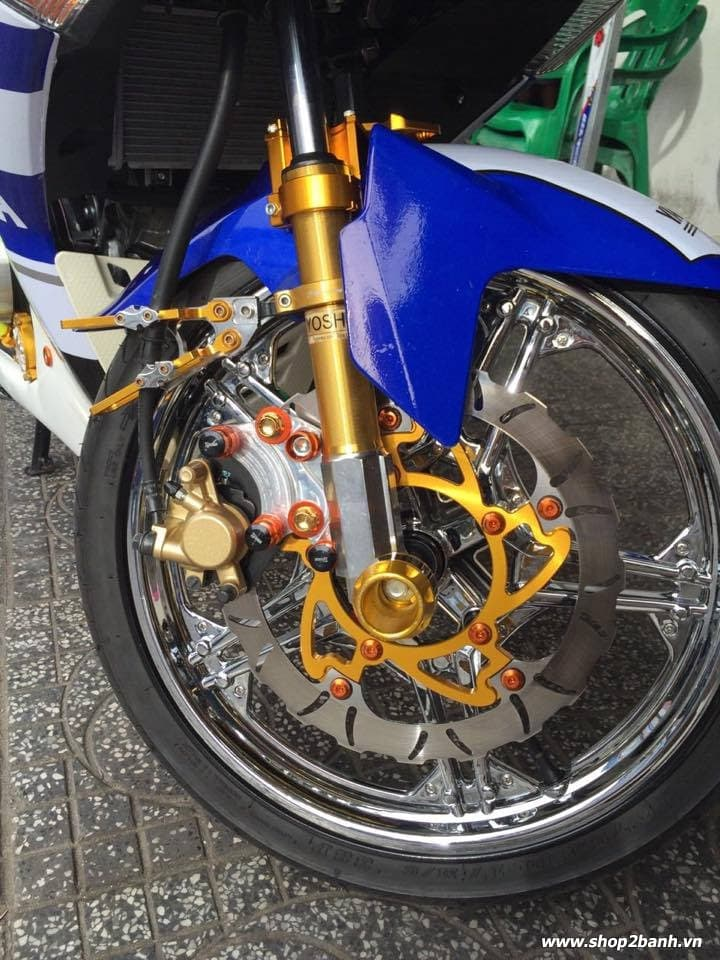 Exciter 150 lên full đồ chơi nổi bật của biker kiên giang - 4