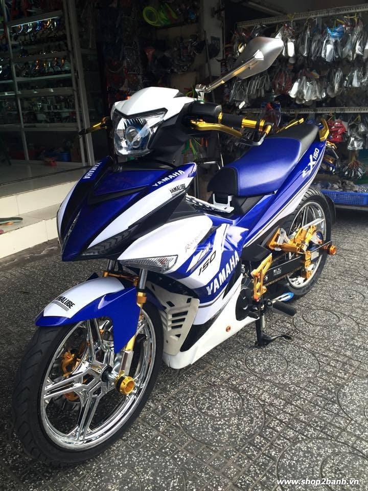 Exciter 150 lên full đồ chơi nổi bật của biker kiên giang - 3