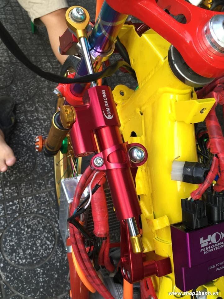 Lên full đồ chơi xe exciter 135 theo phong cách drag - 7