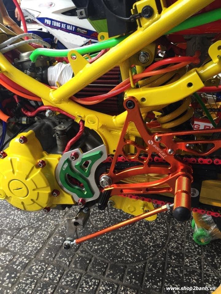 Lên full đồ chơi xe exciter 135 theo phong cách drag - 9