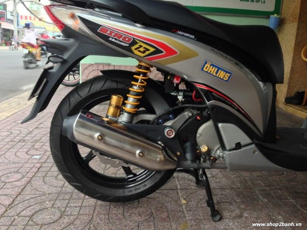 Honda sh độ kiểng full đồ chơi nổi bật tại sài gòn - 3