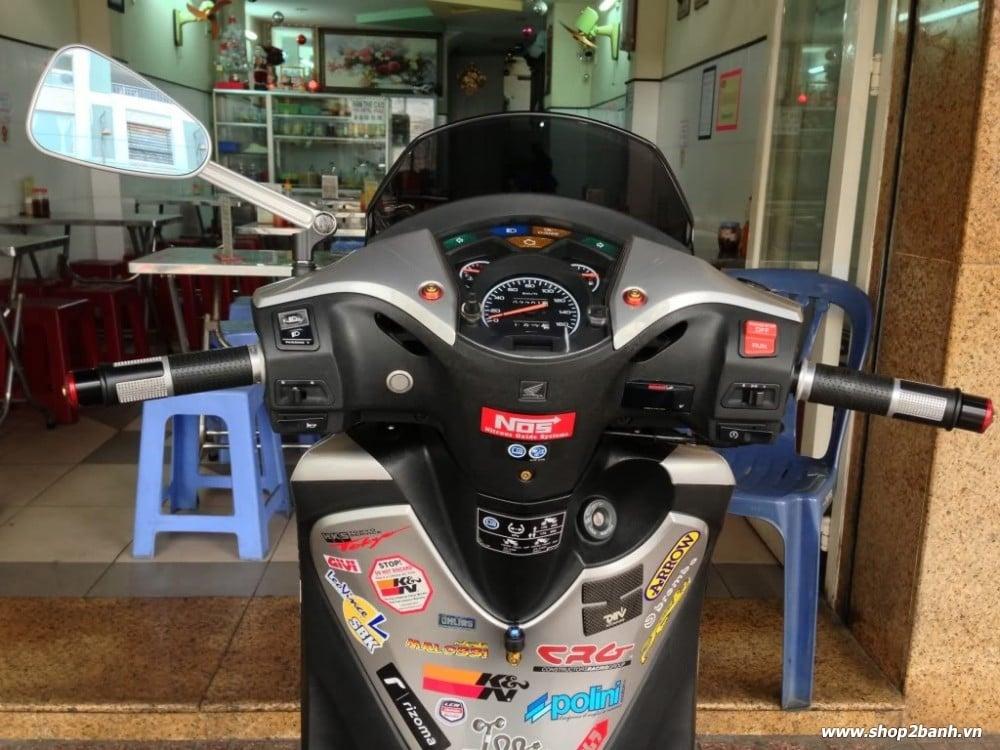 Honda sh độ kiểng full đồ chơi nổi bật tại sài gòn - 7