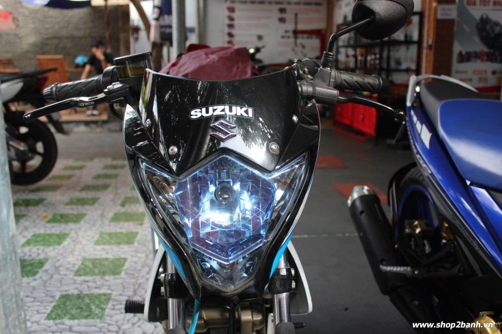Chóa đèn xanh limited satria fu150 raider 150 2013 indo new 100 - 1