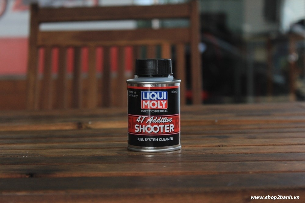 Liqui moly 4t additive shooter - carbon cleaner - 1