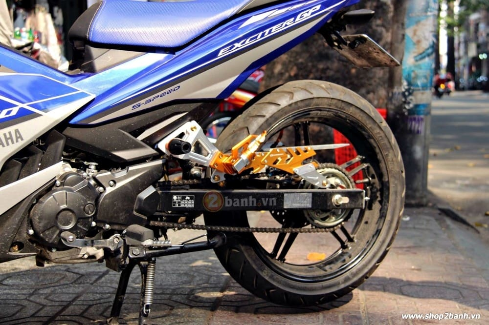 Carte biker nhôm cho exciter winner 150 raider - 2