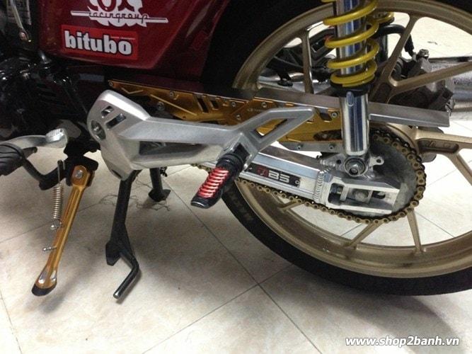 Carte biker nhôm cho exciter winner 150 - 4