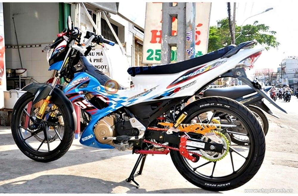 Carte biker nhôm cho exciter winner 150 raider - 3