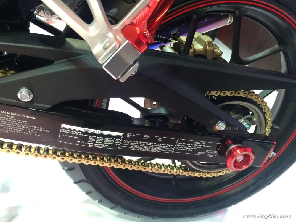 Honda winner 150 độ kiểng với đồ chơi endurance chính hãng - 5