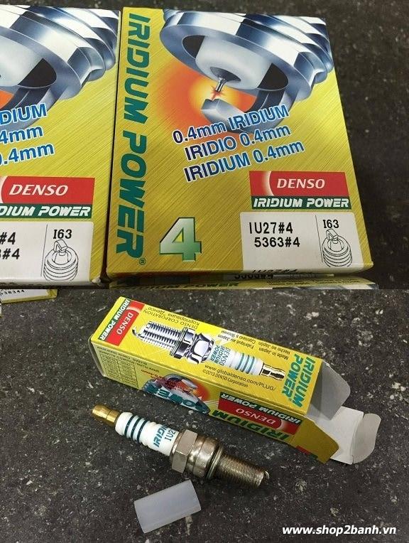 Bugi denso iridium power iu27 cho winner 150 cbr150 moto pkl - 1