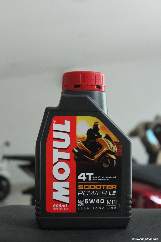 Motul scooter power le 5w40 08l - 1