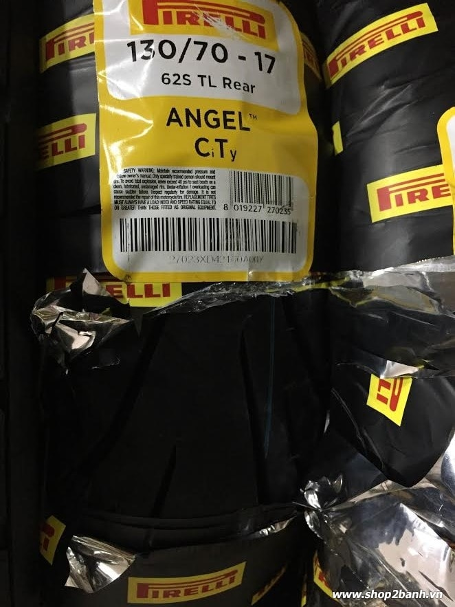 Vỏ xe pirelli 13070-17 angel city - 1