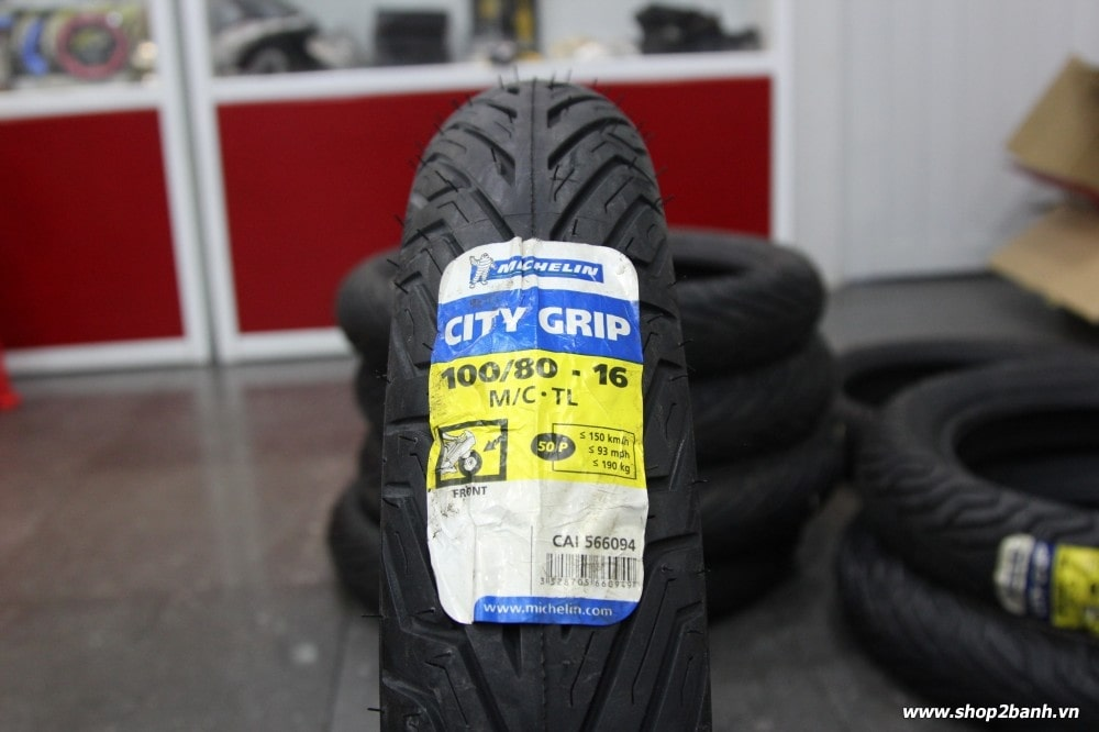 Vỏ michelin city grip 10080-16 - 1