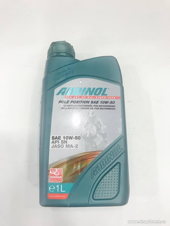 Nhớt addinol pole position 10w50 - 1