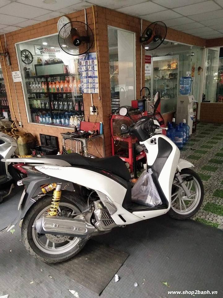 Phuộc rcb bình dầu chính hãng cho shvn sh300i có tăng chỉnh - 5