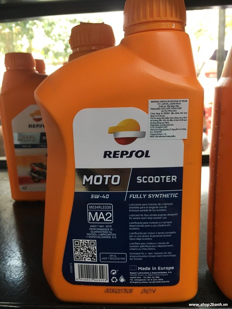 Repsol moto scooter 4t 5w40 - 3