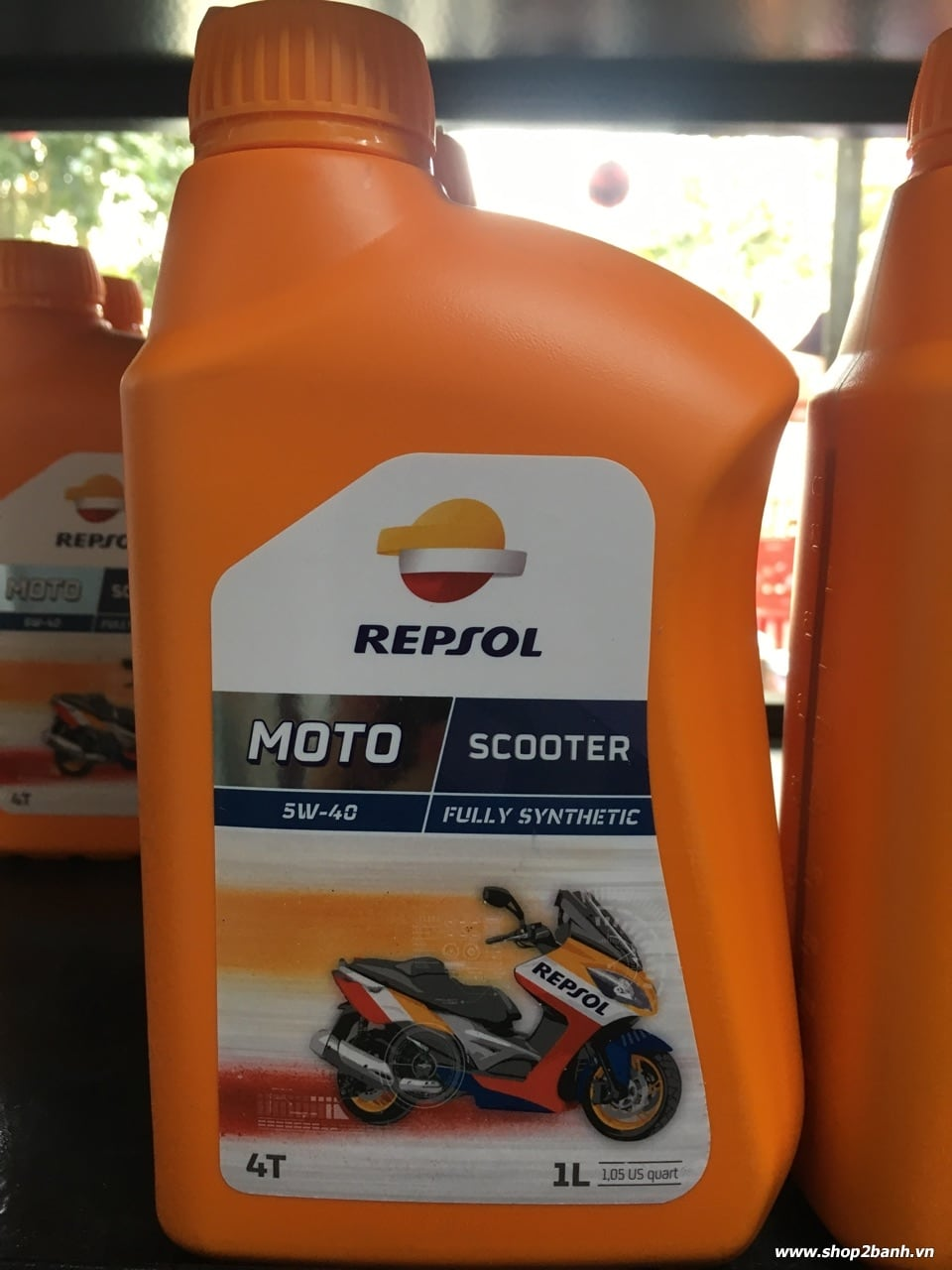 Repsol moto scooter 4t 5w40 - 2