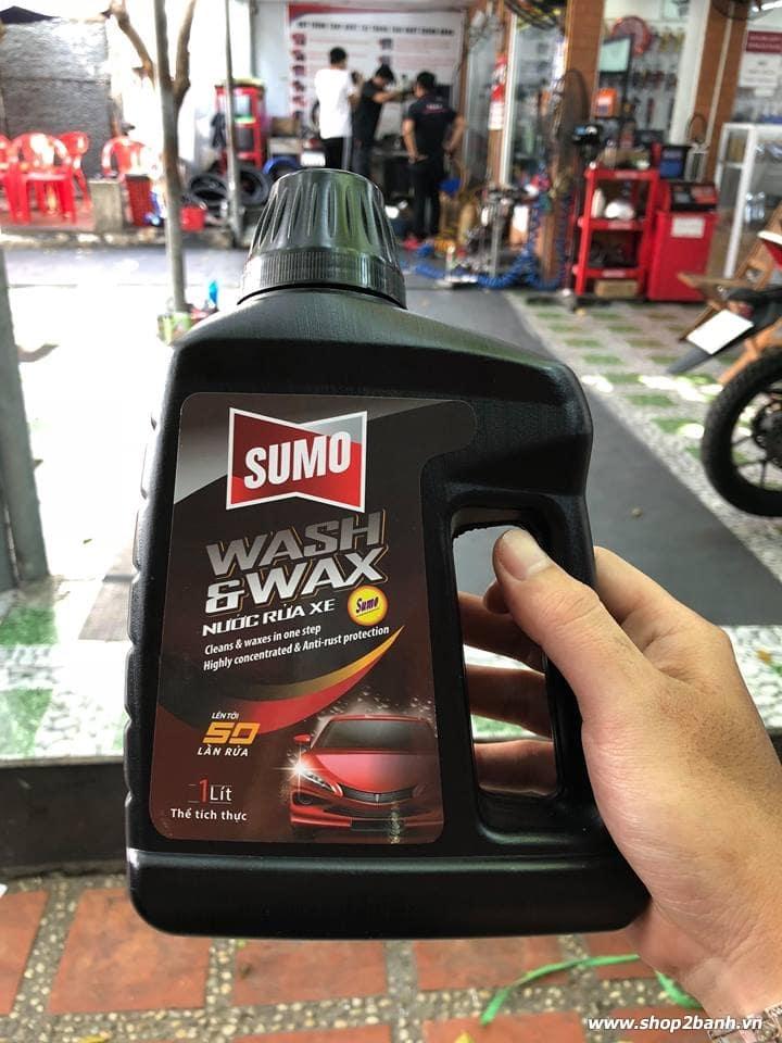 Nước rửa xe bảo vệ màu sơn sumo - 1