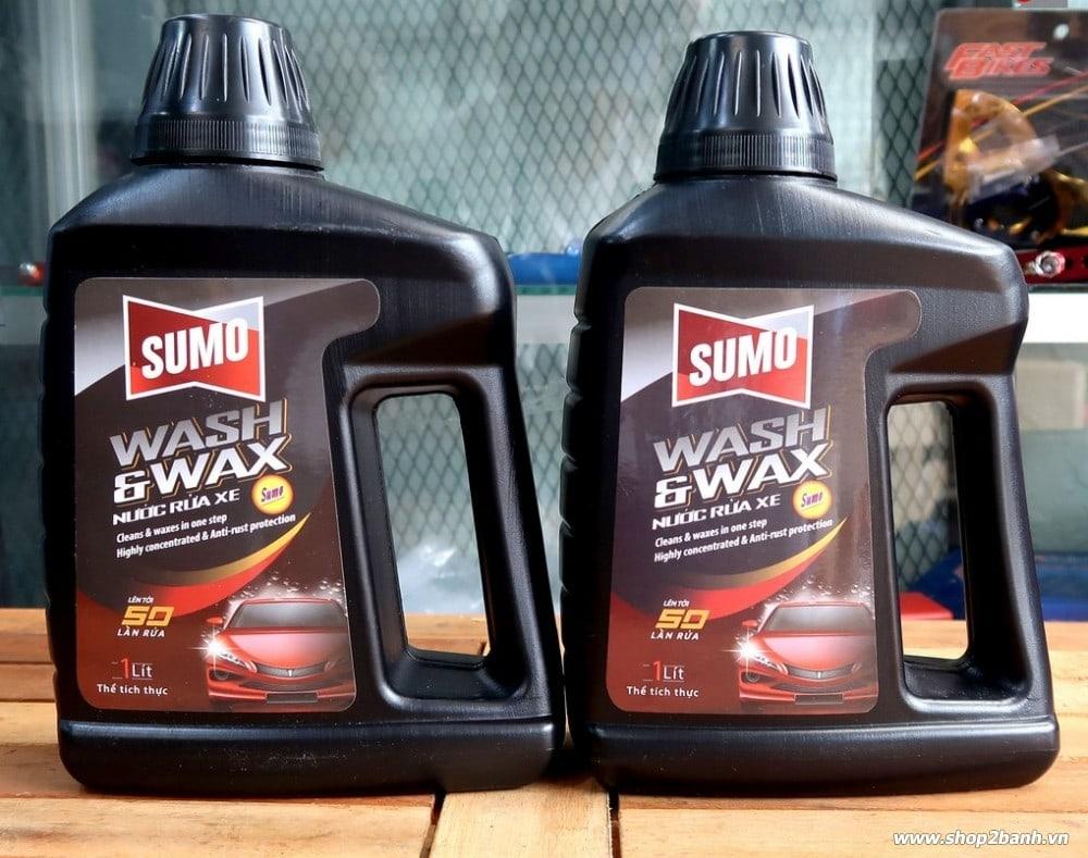 Nước rửa xe bảo vệ màu sơn sumo - 2