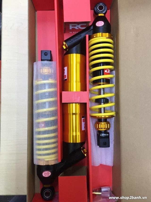 Phuộc rcb db-2 bình dầu chính hãng cho ab125 pcx - 1