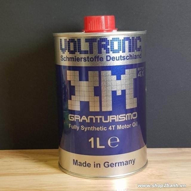 Nhớt voltronic granturismo xm blue xanh - 1