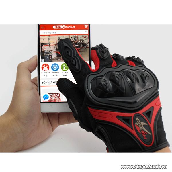 Găng tay bảo hộ cảm ứng điện thoại pro biker chính hãng - 1
