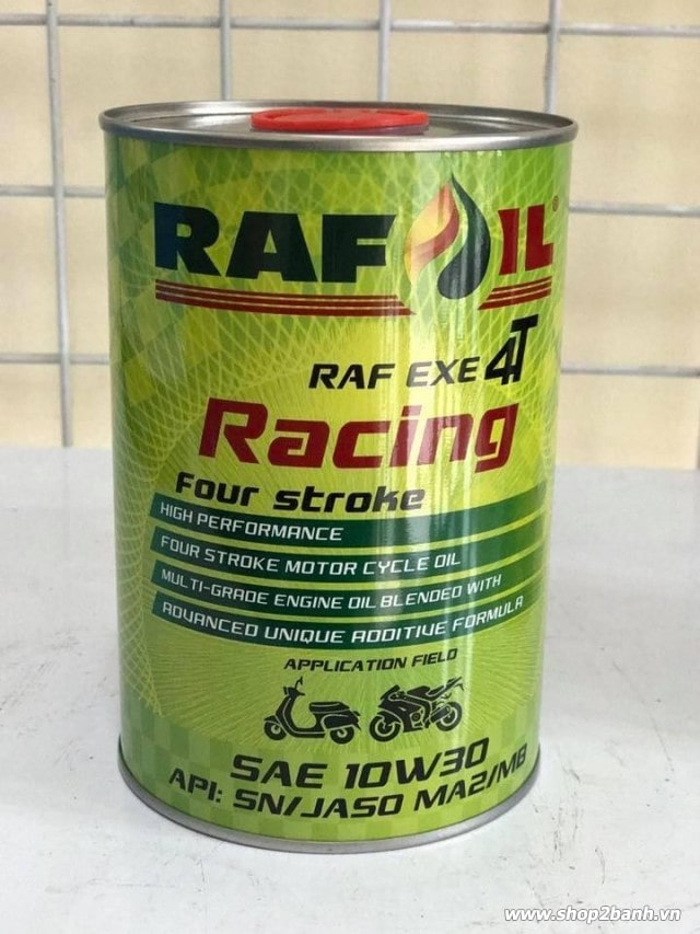 Nhớt raf oil racing 10w30 1l - 1
