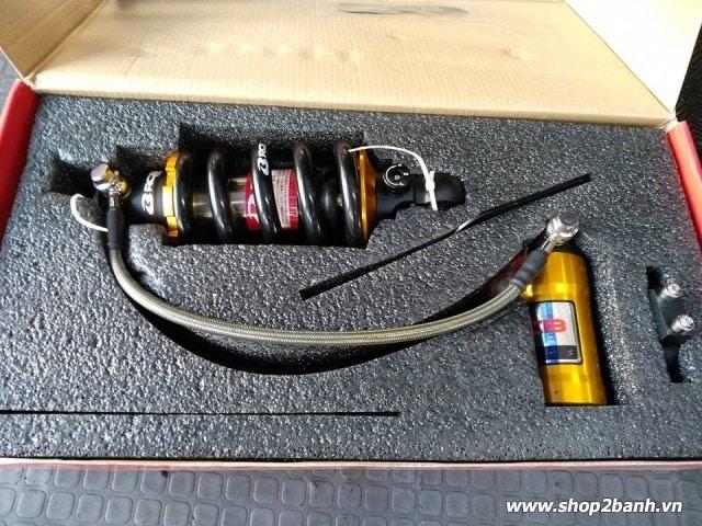 Phuộc rcb chính hãng db-2 bình dầu cao cấp cho exciter 150 - 3