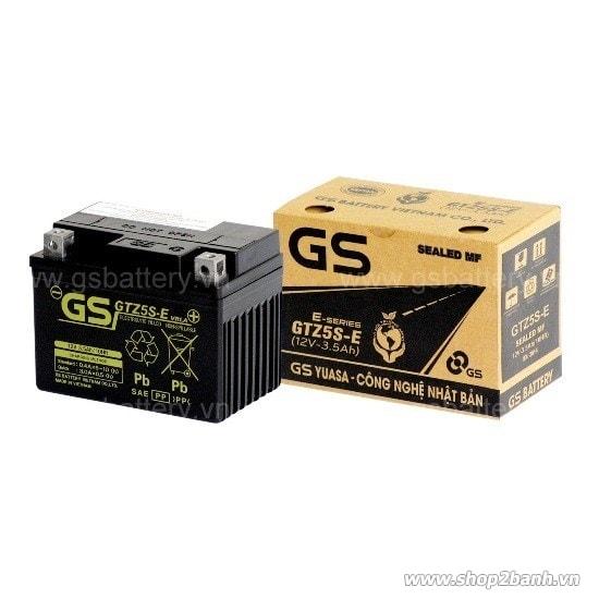 Bình ắc quy gs gtz5s-e - 1