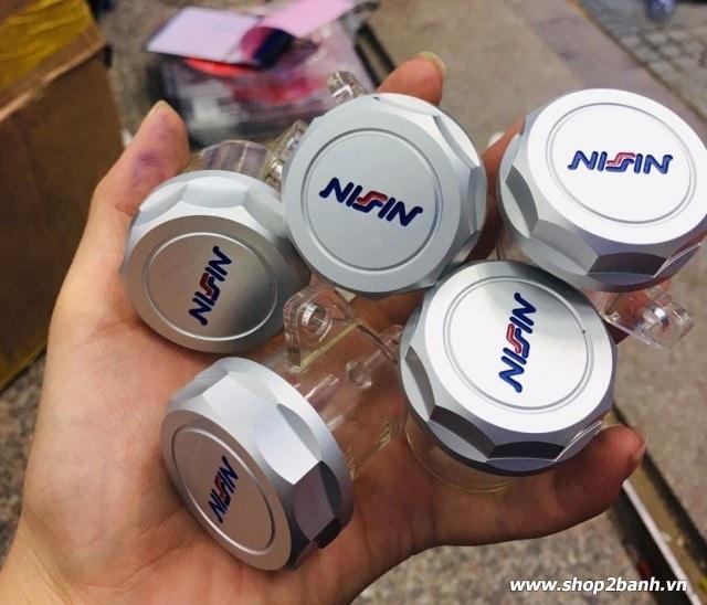 Bình dầu nissin nắp nhôm cnc - 1