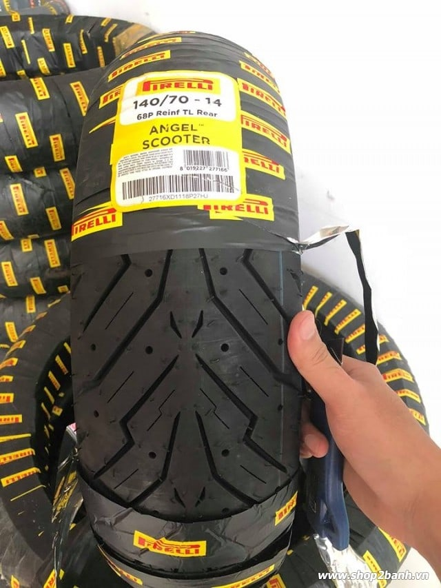 Vỏ pirelli 14070-14 angel scooter - 1