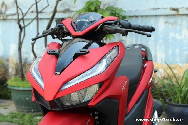 Xe honda vario 150 đỏ nhám 2018 nhập khẩu indo - 3
