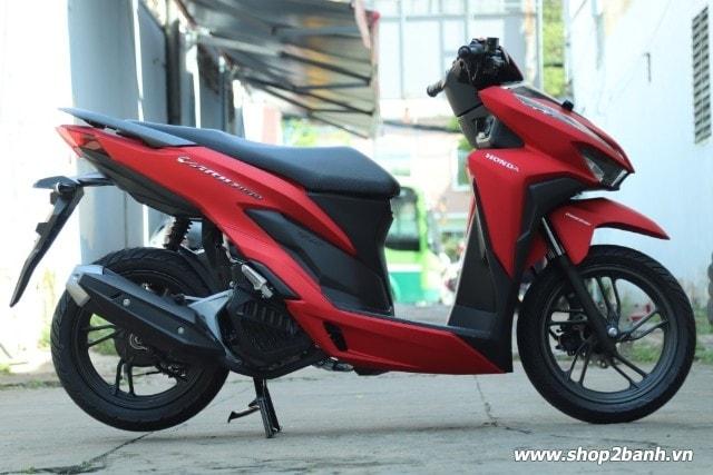 Xe honda vario 150 đỏ nhám 2018 nhập khẩu indo - 1