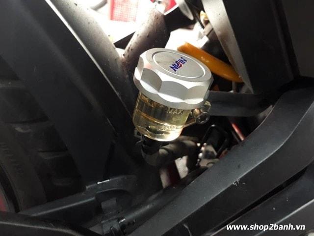 Bình dầu nissin nắp nhôm cnc - 3