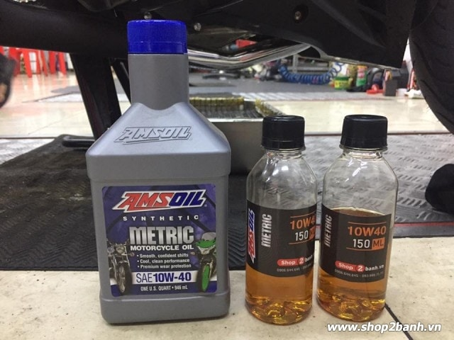 Amsoil 10w40 synthetic metric - 3