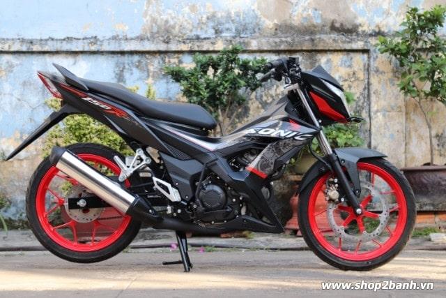 Xe honda sonic 150r đen mâm đỏ nhập khẩu indo 2019 - 1